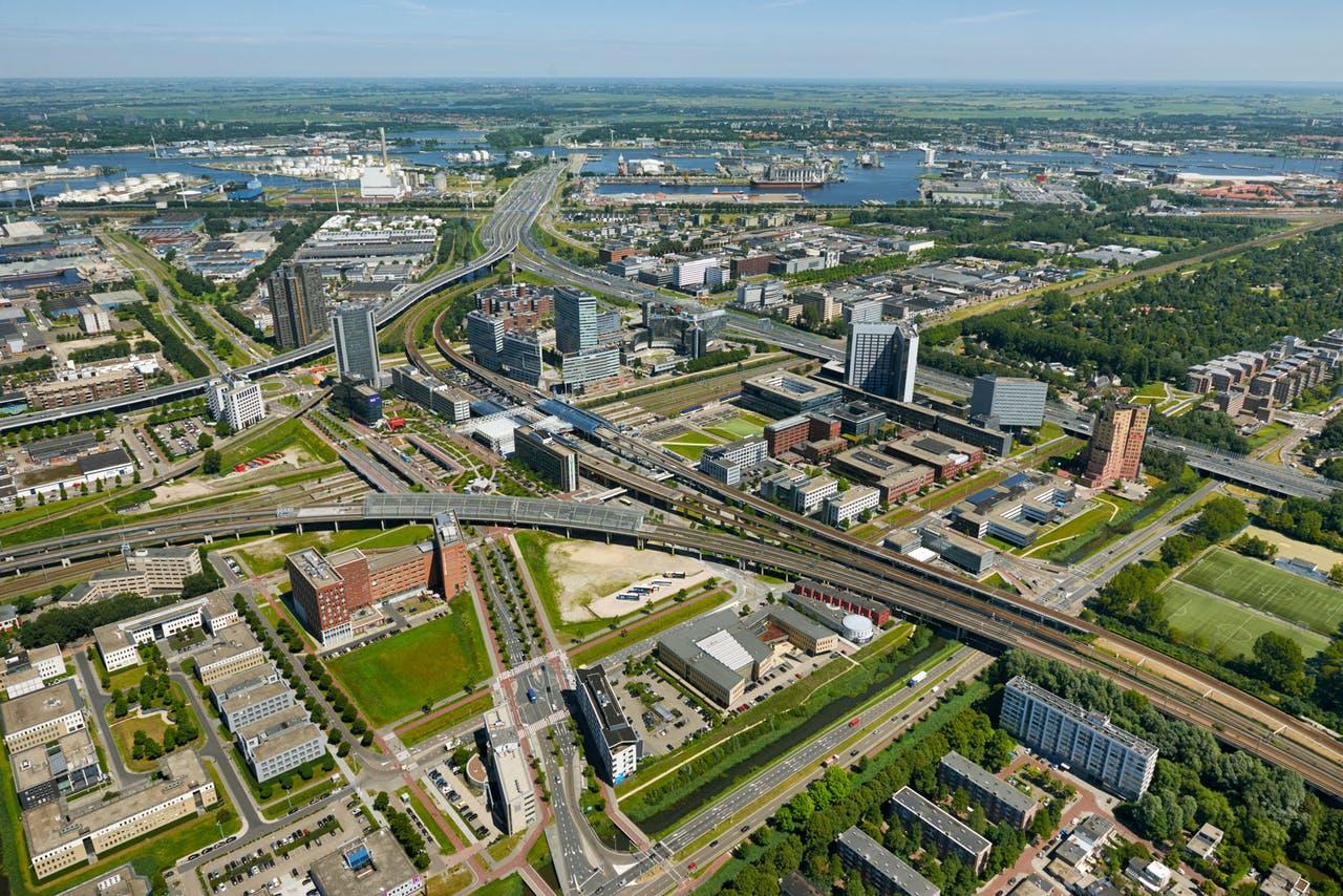 Kantoorruimte huren in Amsterdam Sloterdijk