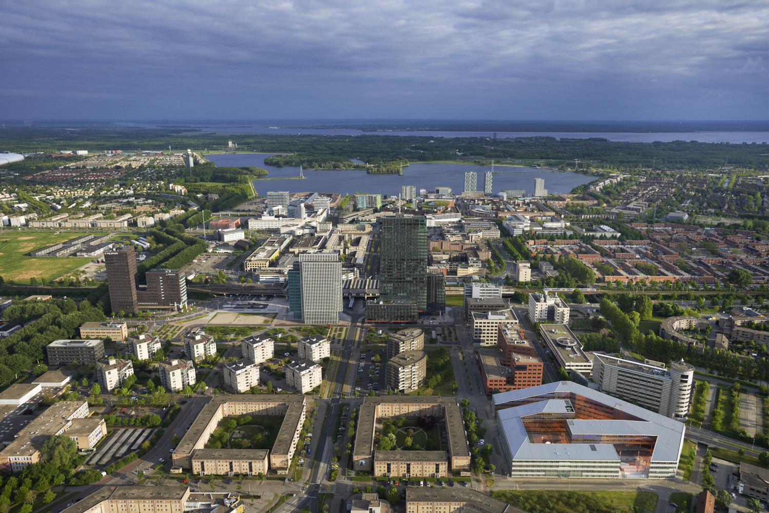 Kantoorruimte huren in Almere