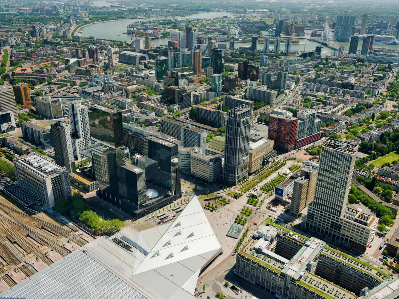 Kantoorruimte huren in Rotterdam Central Business District